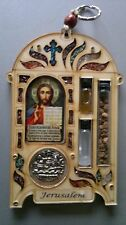 Russian blessing for the home Maria Jesus icon Roman catholic wood wall hanging