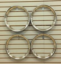 "16"" NEW Stainless Steel Beauty Rings TRIM RING SET Of 4"