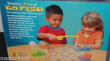 Fisher- Price Playchest Key Games Go Fish Preschool Board Game Fish Catching