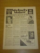 MELODY MAKER 1934 FEB 17 JIM EASTON ROY FOX TED JOYCE BIG BAND SWING