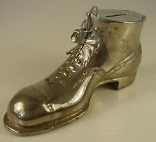 Antike seltene Spardose Schuh vor 1945