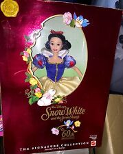 DISNEY SNOW WHITE DOLL 60TH ANNIVERSARY SIGNATURE COLLECTION  MATTEL LIMITED #2