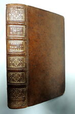 Les Avantures De Telmaque Fils D'Ulysse Tome Second 1740 Leather Bound