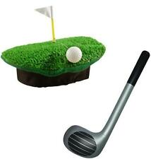 Crazy Golf Hat and 92cm Inflatable Golf Club Fancy Dress Kit Stag Night