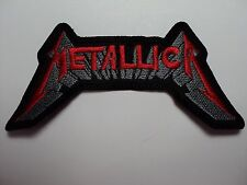 METALLICA EMBROIDERED PATCH