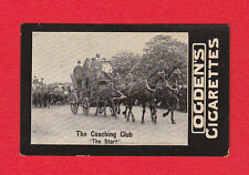 TRANSPORT  -  OGDENS  -  RARE  COACH  CARD  -  THE  COACHING  CLUB  -  1902
