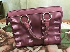 HARVEYS SEATBELT BAG LOLA SATCHEL RASBERRY PINK W/CROSSBODY STRAP PURSE