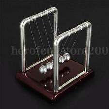 Newtons Cradle Steel Balance Ball Physics Science Pendulum Fun Desk Top Toy Gift