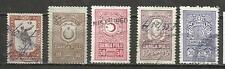 8385A-LOTE ANTIGUOS RAROS SELLOS TURQUIA TURKEY REVENUE,FISCALES,TIMBRES,classic