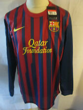 Barcelona 2011-2012 Home Football Shirt Size Large Long Sleeves  BNWT /she
