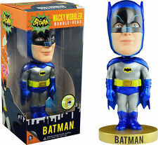 FUNKO BATMAN 1960'S METALIC ED WACKY WOBBLER BOBBLE HEAD SDCC 2013 ONLY480 NEW