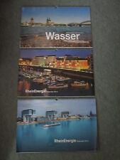 3 x Köln Rhein Energie Kalender 2013 2014 2015 Wasser Dom Stadion Kranhäuser etc