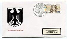 1993 Ersttagsbrief Bonn 1 Geburstag Isaac Newton Erstausgabe SPACE NASA
