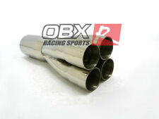 """OBX Merge Collector 4-1 Universal 2.375"""" Primary tube ID 5"""" OD Collector Outlet"""