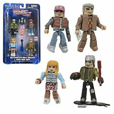 Back to the Future 30th Anniversary Hill Valley Minimates Box Set