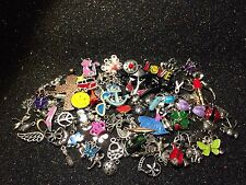 150 PiEcE LoT ~ MiXeD ThEMe EnAmEL SiLvER GoLd ChArMs PeNdAnTs ALtEReD ARt DIY