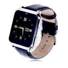 Bluetooth Smart Watch Phone Mate For Android Samsung Smartphone with SIM Black