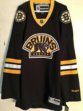 Reebok Premier NHL Jersey Boston Bruins Team Black Alt sz 4X