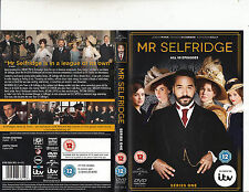 Mr Selfridge-2013/14-TV Series UK-Series 1/10 Episodes-3 Disc Set-DVD