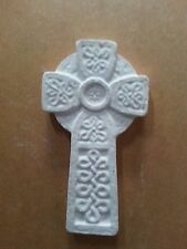 Celtic cross wicca pagan rubber latex mould mold wall decor plaster concrete new