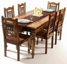 DINING TABLE WITH 6 CHAIR/JALI DINING SET/HAND MADE DINING SET