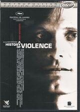 DVD ZONE 2--A HISTORY OF VIOLENCE--CRONENBERG/MORTENSEN/BELLO/HURT/HURT