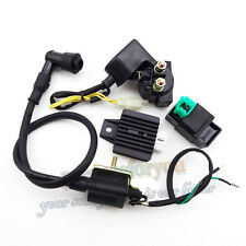 Ignition Coil CDI Regulator Rectifier Relay Kit For 50cc 70 90 110cc ATV Quad