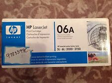 HP LaserJet printer black toner 06A (C3906A) - factory sealed