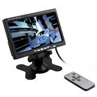 """7"""" TFT LCD Color Car Rear View Monitor DVD VCR For Reverse Backup Camera NEW"""