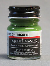 TESTORS PAINT MODEL MASTER GREEN ZINC CHROMATE ENAMEL 1/2oz 14.7ml  NEW 1734