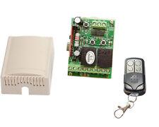 2-Kanal Fernsteuerung 12V  programmierbare Auschaltzeit  inkl. Handsender
