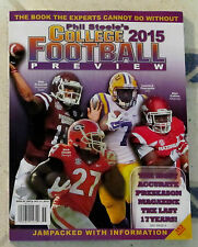2015 PHIL STEELE'S College FOOTBALL PREVIEW Guide 352 Page Book NICK CHUBB New