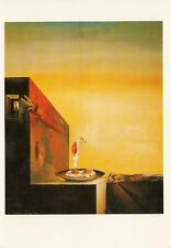 SALVADOR DALI  FRIED EGGS ON A PLATE WITHOUT THE PLATE  POSTCARD