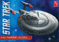 "AMT 1/1400 USS Enterprise NCC-1701-E Plastic Model Kit 853 19"" Long Star Trek"
