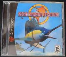 Sega Marine Fishing Dreamcast DC Video Game 2000