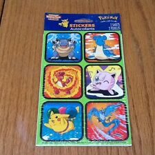 New Sealed In Package 1999 Nintendo Pokemon Stickers Party favors ARTICUNO NEW
