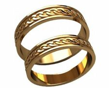 5 pairs Wedding band Wax patterns  for lost wax casting jewelry #kp022