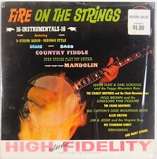FIRE ON THE STRINGS: Flatt Scruggs, Stanley Brothers, Stonemans STARDAY LP VG++