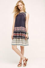 NWT Anthropologie Romana Swing Tiered Dress Size M By NorBlack NorWhite