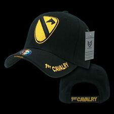 1st Cavalry US Military Veteran Baseball Caps Ball Hat Legend Collection Black