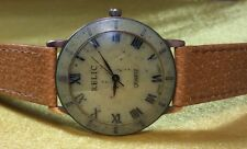 Relic By Fossil Stone Face Roman Numeral Ladies Quartz Watch
