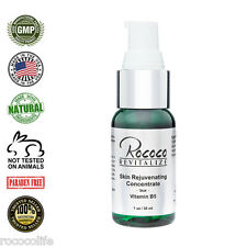 Skin Rejuvenating Concentrate with Vitamin B5 Benefits for Face Skin - 1oz 30ml