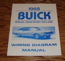 buick gran sport 1968 buick special gran sport skylark wiring diagram manual 68