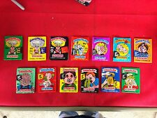 TOPPS GARBAGE PAIL KIDS STICKERS PACK LOT 3 4 5 6 7 8 9*** 10 11 12 13 14 15