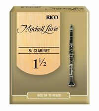 Rico Mitchell Lurie Bb Clarinet Reeds #1.5 (10-Pack) NEW