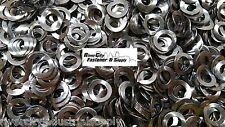50 of 6mm & 30 of 8mm & 20 of 10mm  Steel Wave / Curve Washers DIN 137A Curved