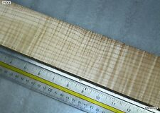 "Curly Maple 0.26"" x 21"" long (FB-MPL-HF) - HIGHLY FIGURED"