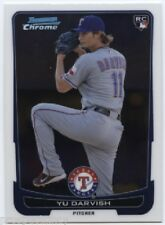 Lot of (95) Yu Darvish 2012 Bowman Chrome RC Cards - Texas Rangers ACE SP