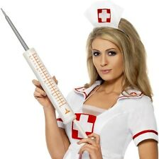 Comedy Jumbo Fancy Dress Syringe Nurse Doctor Doctors Sringe 50cm by Smiffys New