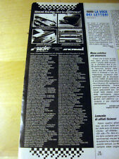 PUBBLICITA' ADVERTISING WERBUNG 1992 SIMONI RACING ACCESSORI (Q437)